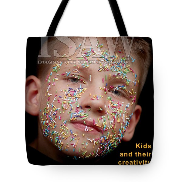 Tote Bag featuring the digital art If You Were A Cake by ISAW Company
