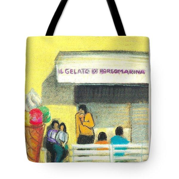 Il Gelato De Borgo Marina Tote Bag