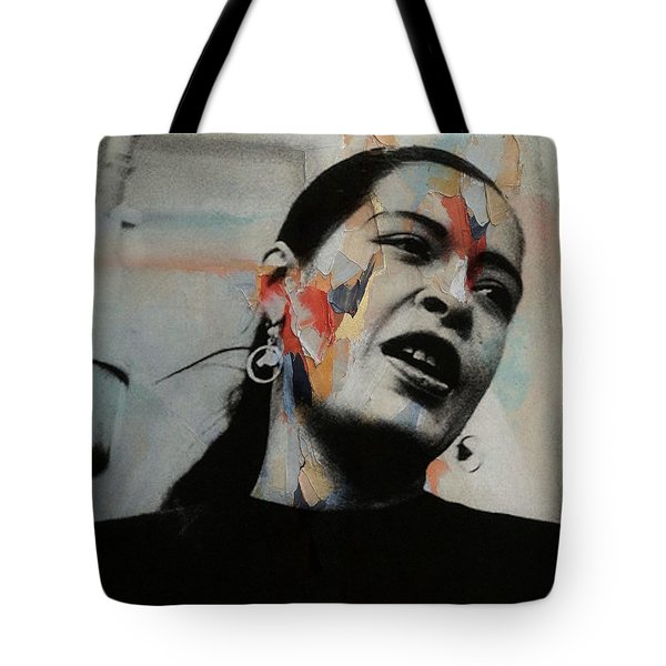 I'll Be Seeing You - Billie Holiday  Tote Bag