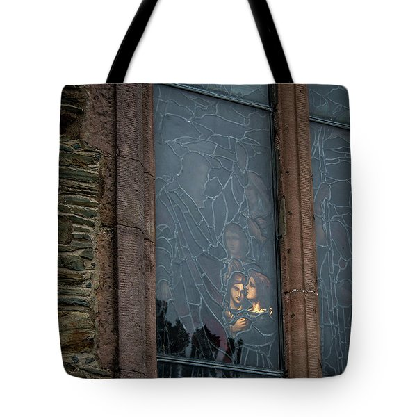 Illumination Stained Glass Tote Bag