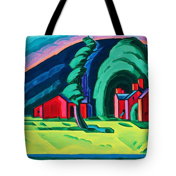 Illusion Of A Prairie, New Jersey - Digital Remastered Edition Tote Bag