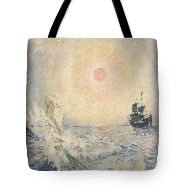 The Little Mermaid, Illustration From  Tote Bag