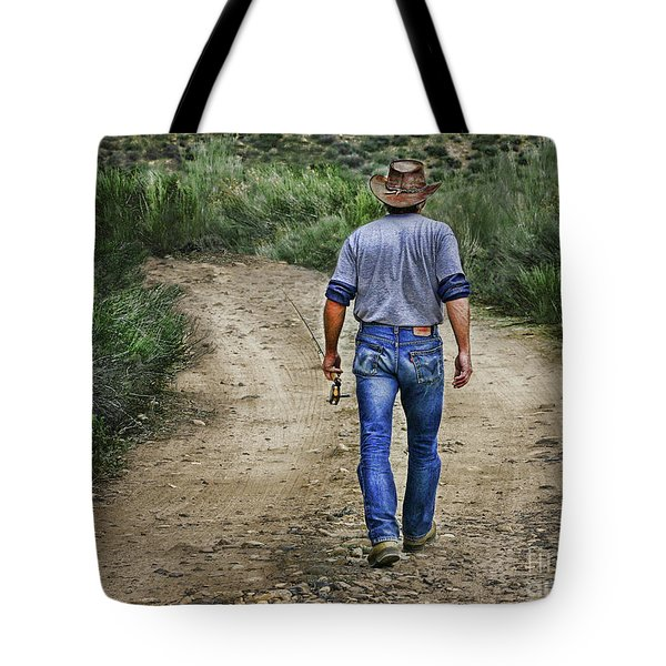 I'm Goin' Fishin Tote Bag