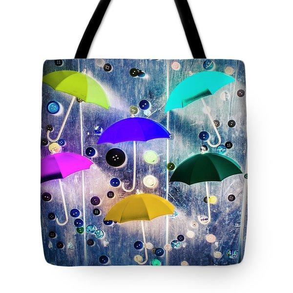 Imagination Raining Wild Tote Bag