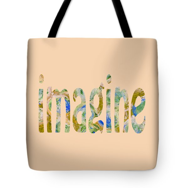 Imagine 1009 Tote Bag