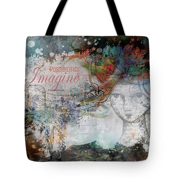 Imagine Possibilities Tote Bag
