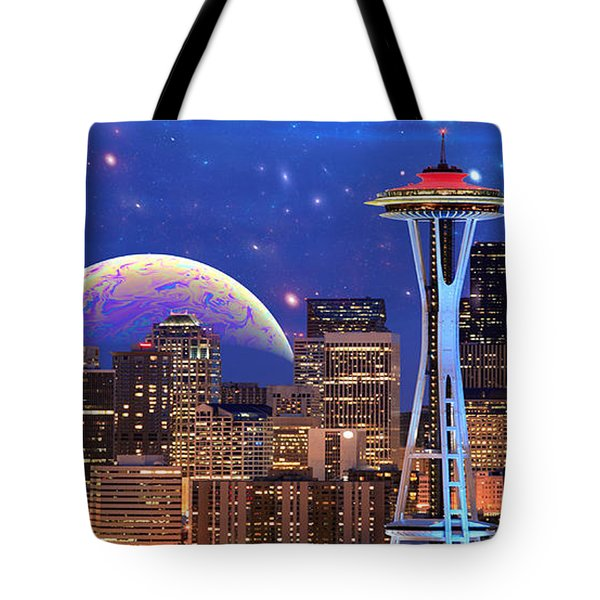 Imagine The Night Tote Bag