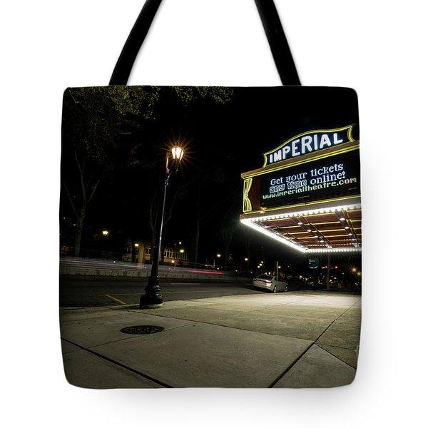 Imperial Theatre Augusta Ga Tote Bag
