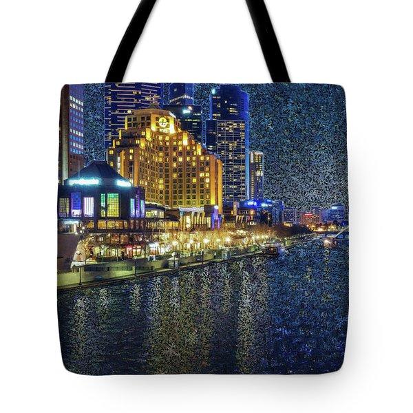 Impression Of Melbourne Tote Bag