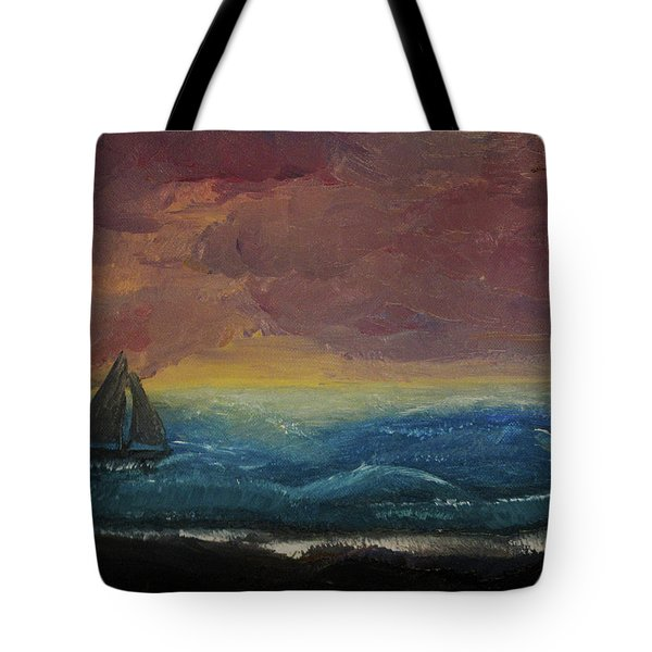 Impressions Of The Sea Tote Bag