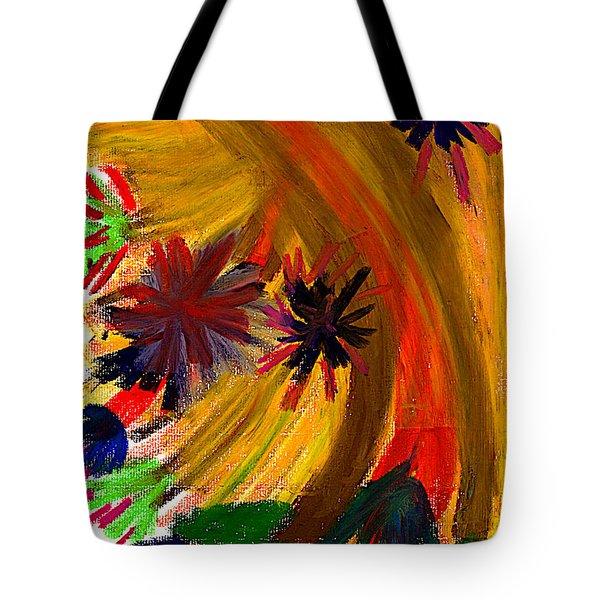 Improvisation #74 Tote Bag