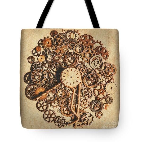 Improvised Time Tote Bag