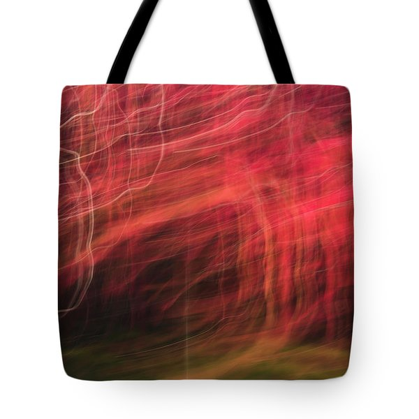 In Depth Of A Forest Tote Bag