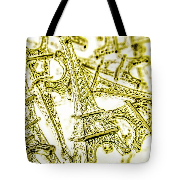 In French Forms Tote Bag