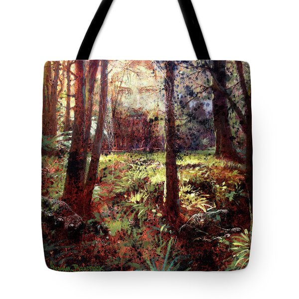 In Him We Live, And Move, And Have Our Being Tote Bag