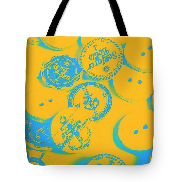 In Old Sailor Fashion Tote Bag