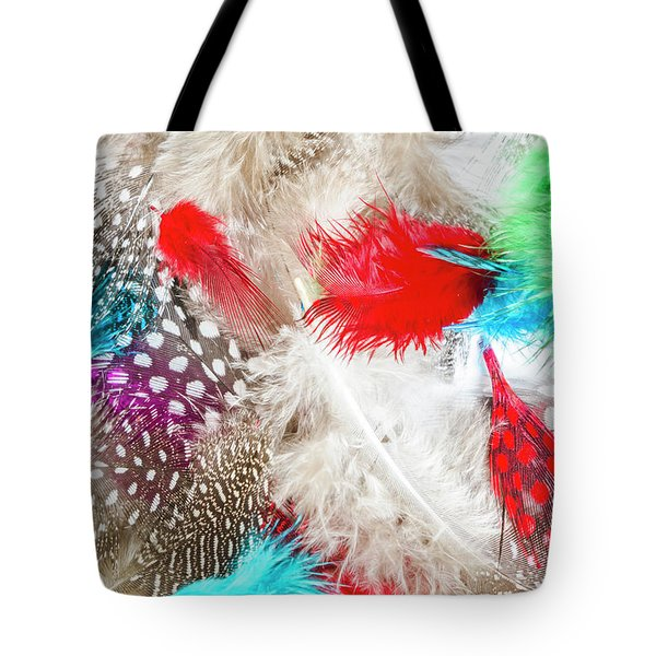 In Quill Colors Tote Bag