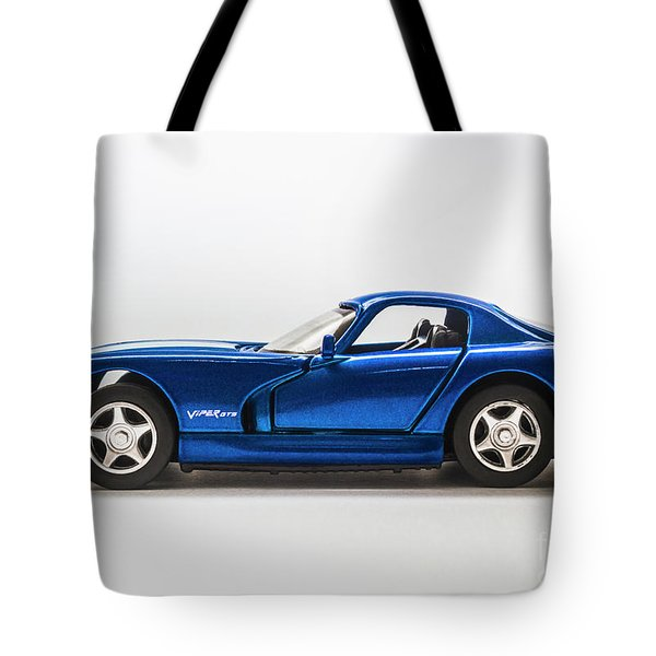 In Race Blue Tote Bag