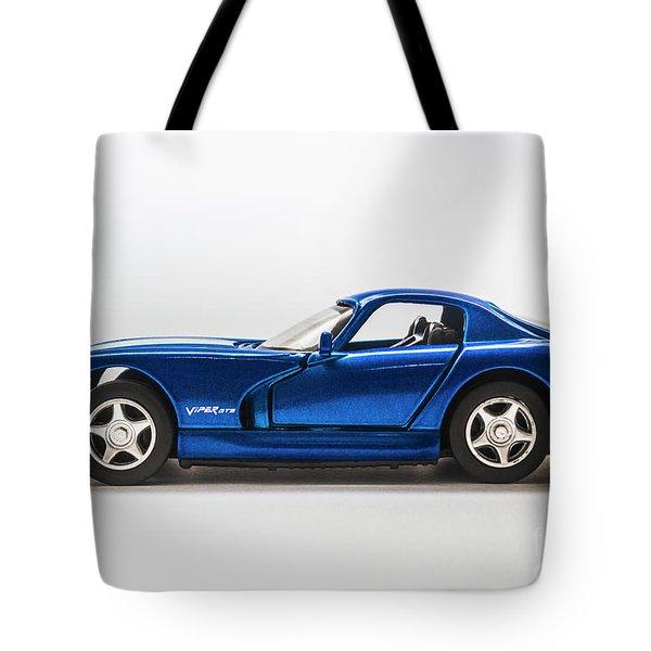 In Race Blue Tote Bag