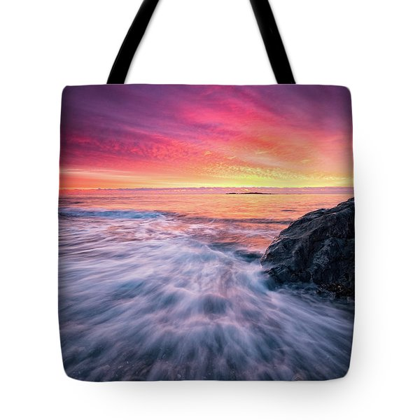 In The Beginning There Was Light Tote Bag
