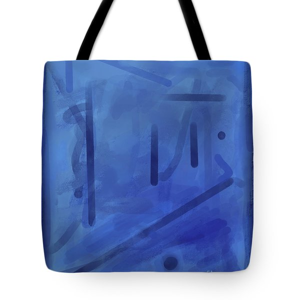 In The Blue Mist Tote Bag