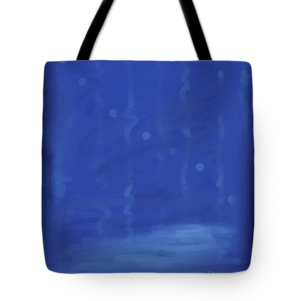 In The Blue Water Tote Bag