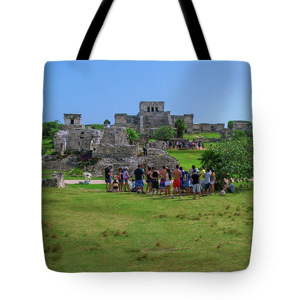 In The Footsteps Of The Maya Tote Bag