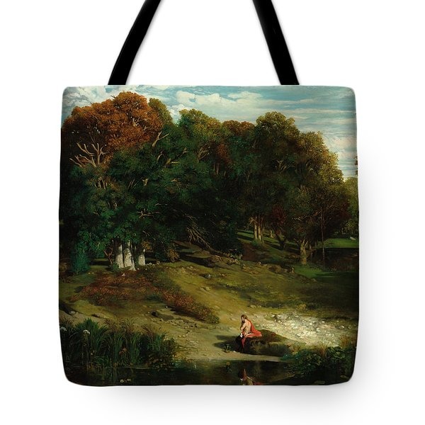 In The Forest, 1841 Tote Bag