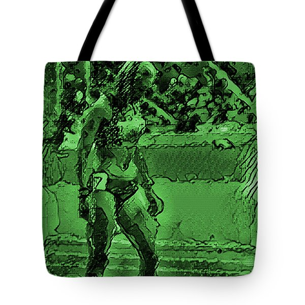 In The Green Zone Tote Bag