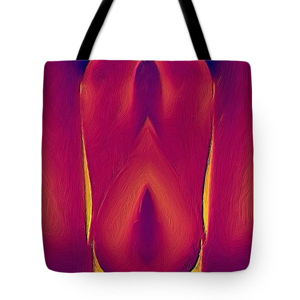 In The Heat Of Passion Tote Bag