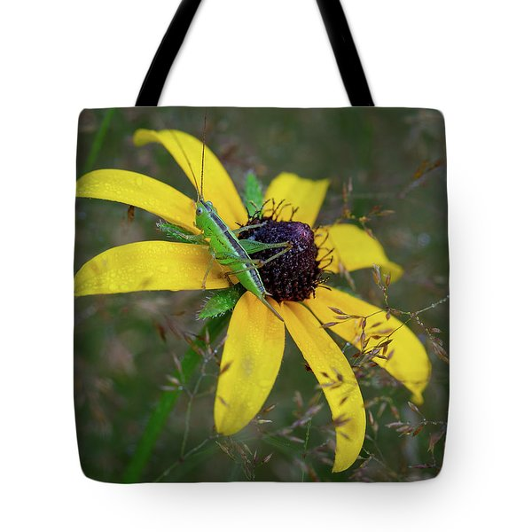 Tote Bag featuring the photograph In The Meadow by Dale Kincaid