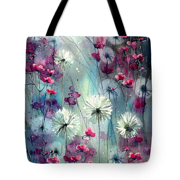 In The Night Garden - Pink Buds  Tote Bag