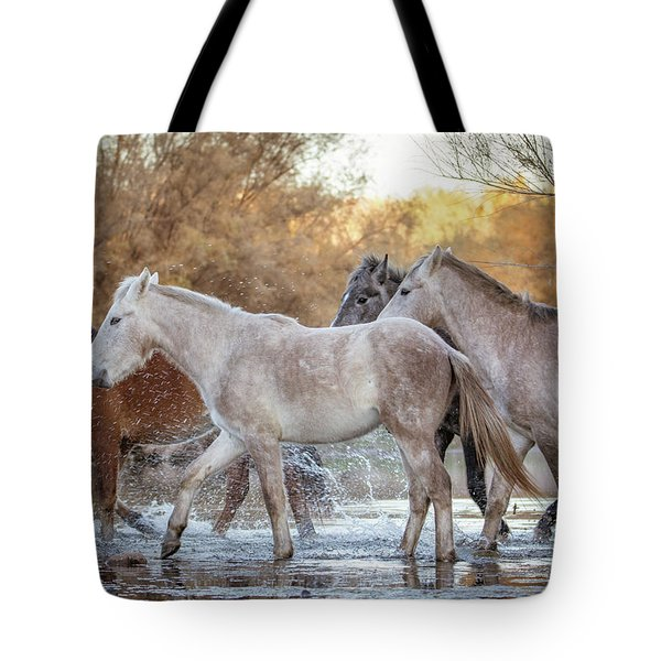 In The River Tote Bag