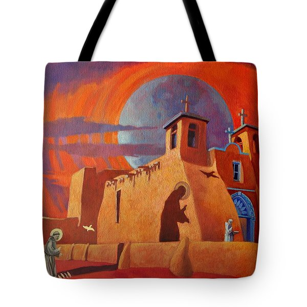 In The Shadow Of St. Francis Tote Bag
