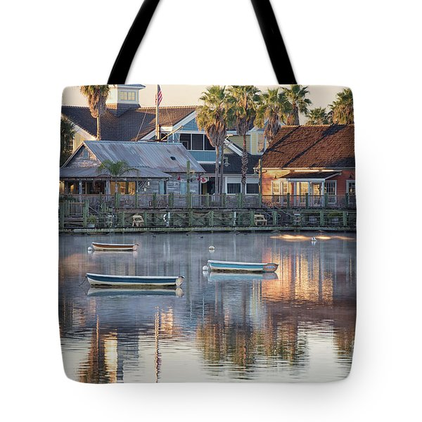 In The Stillness Of The Morn Fine Art Photography By Mary Lou Chmura Tote Bag