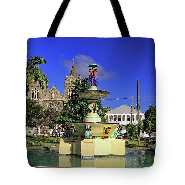 Tote Bag featuring the photograph Independence Park by Tony Murtagh