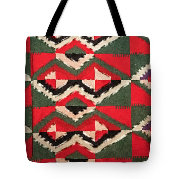 Indian Blanket Tote Bag