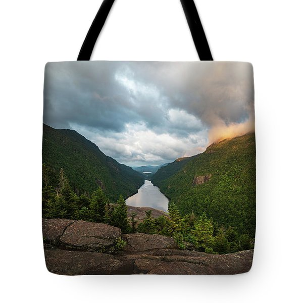 Tote Bag featuring the photograph Indian Head Sunrise by Brad Wenskoski