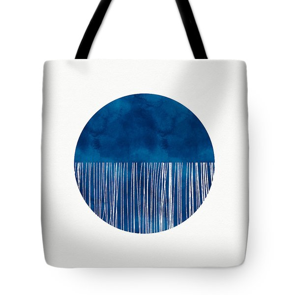 Indigo Moon- Art By Linda Woods Tote Bag