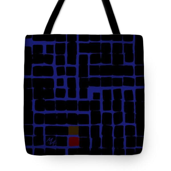 Industrial Night Tote Bag