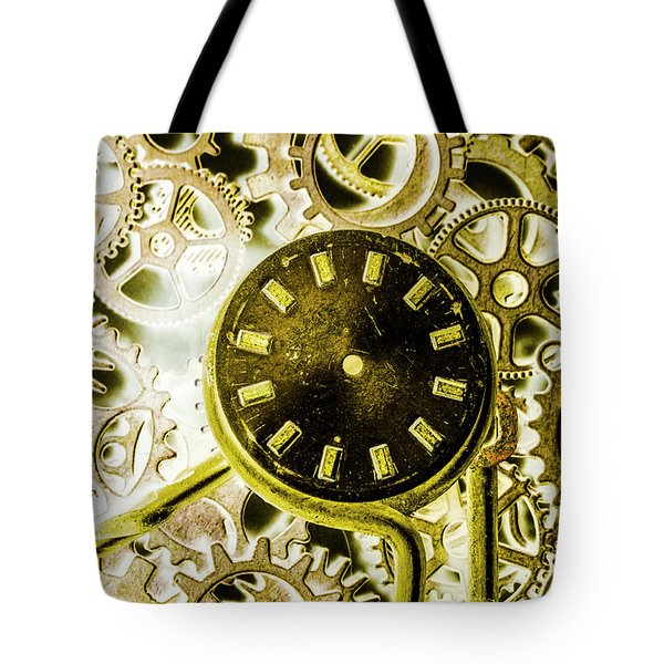 Industrialized Tote Bag