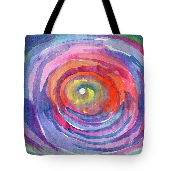 Infinity Abstraction Tote Bag