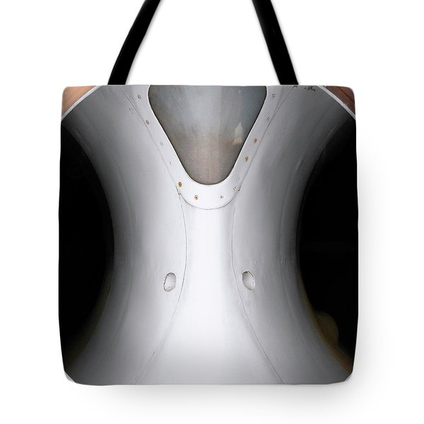 Tote Bag featuring the photograph Inlet I by Whitney Goodey