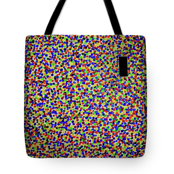 Inside Looking Out Tote Bag