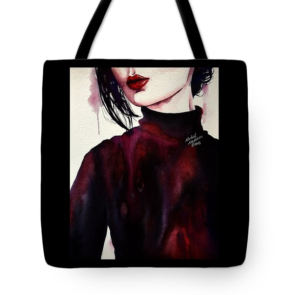 Tote Bag featuring the painting Inside My Heart by Michal Madison