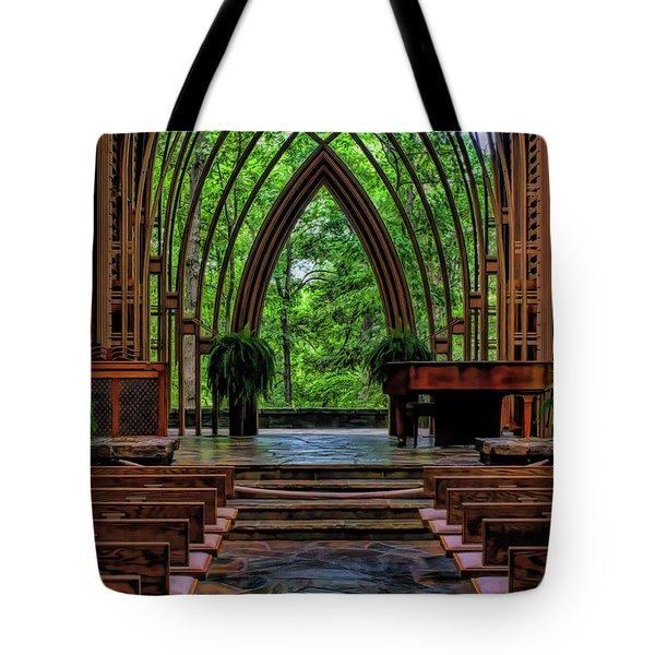 Inside The Chapel Tote Bag