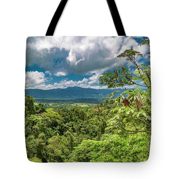 Inspirational Forest Tote Bag
