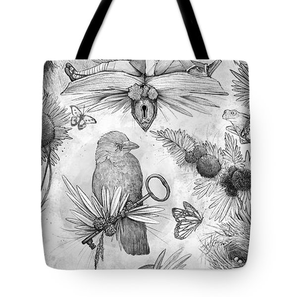 Into An Open Book Tote Bag