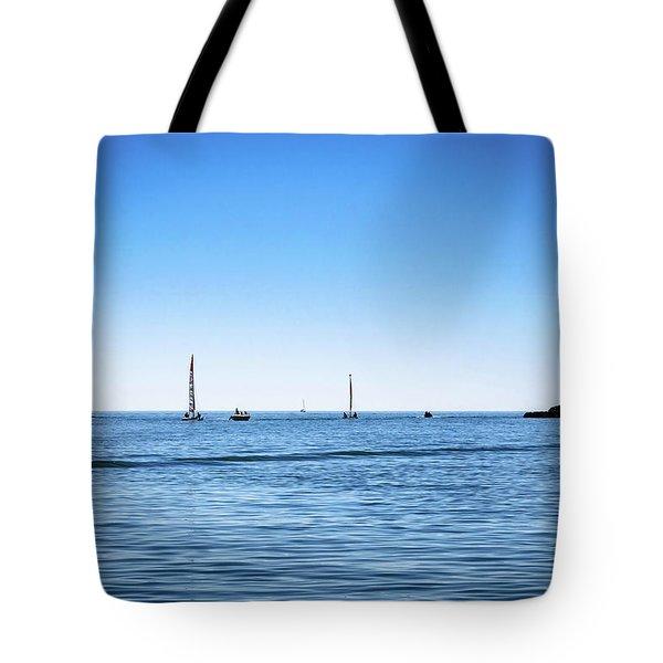 Into The Atlantic Ocean Tote Bag