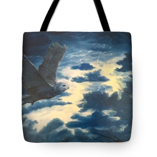 Into The Black Tote Bag